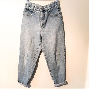VINTAGE DISTRESSED HIGH WAISTED MOM JEANS